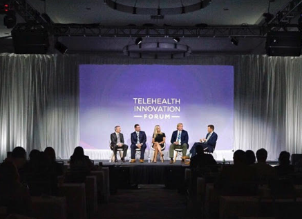 Intouch Telehealth Forum Panel | Joe DeVivo, CEO of InTouch Telehealth; Alexis Gilroy, Partner at Jones Day; Zachary DArgonne, AVP, Outreach Services at HCA Healthcare
