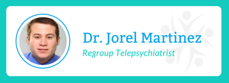 Spanish Speaking Psychiatrist - Dr Jorel Martinez - Regroup Telehealth and Telepsychiatry - Hispanic Psychiatrist