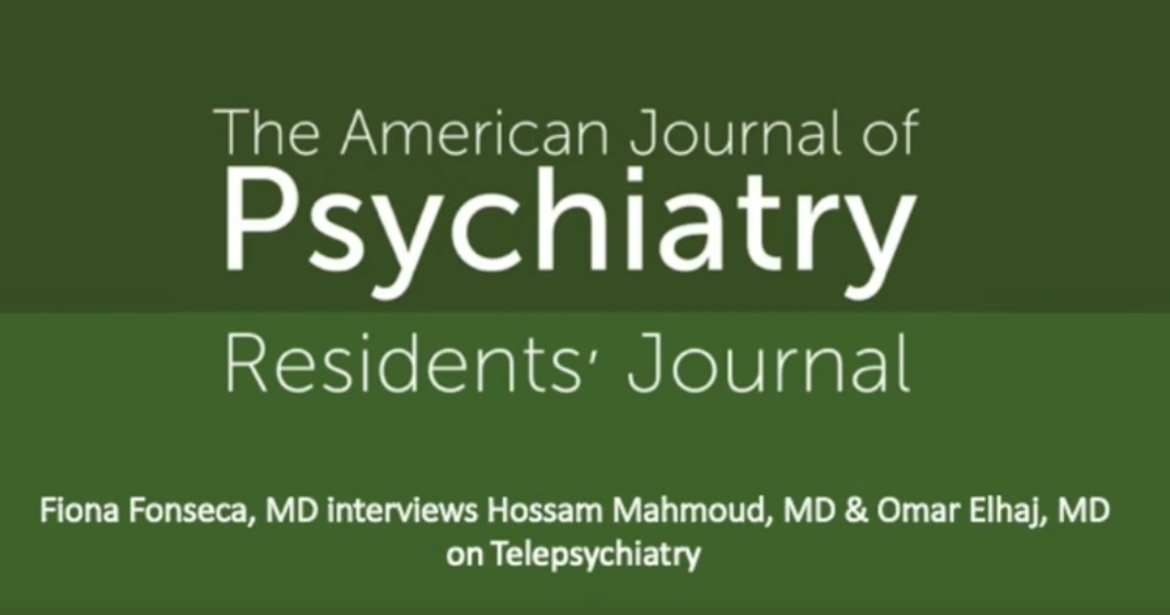 American Journal of Psychiatry Residents Journal
